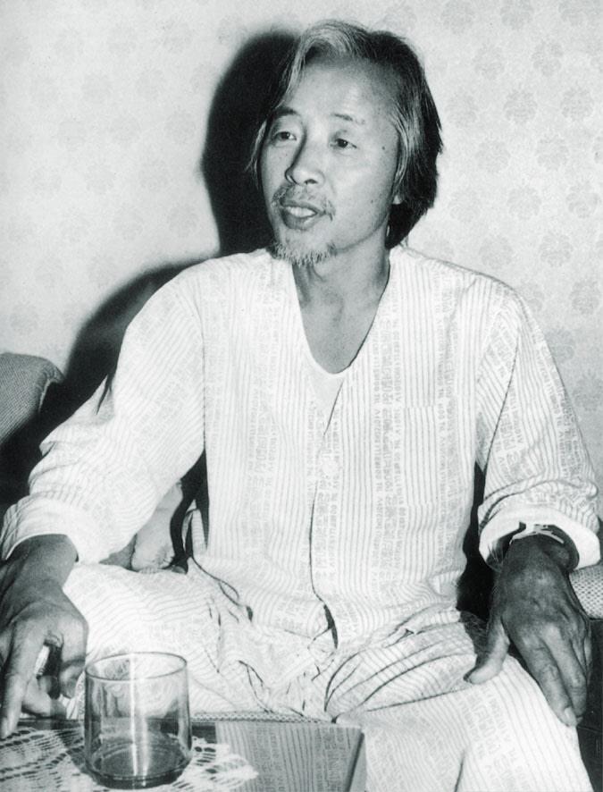 김영삼 전 신민당 총재가 1983년 가택연금된 가운데 5·17 3주년을 맞아 단식을 벌이는 모습.jpg