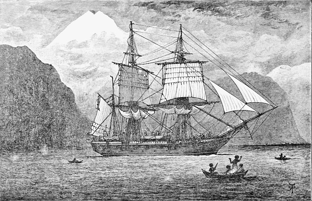 PSM_V57_D097_Hms_beagle_in_the_straits_of_magellan.jpg