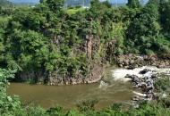 용암 흘러 넘친 한탄강, 한반도 '막내 땅'