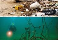 가장 많은 바다쓰레기는 담배꽁초