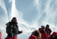 남극 둘러보는 환경장관들
