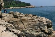 칡소 무늬 25억살 대이작도, 한반도 땅 원형
